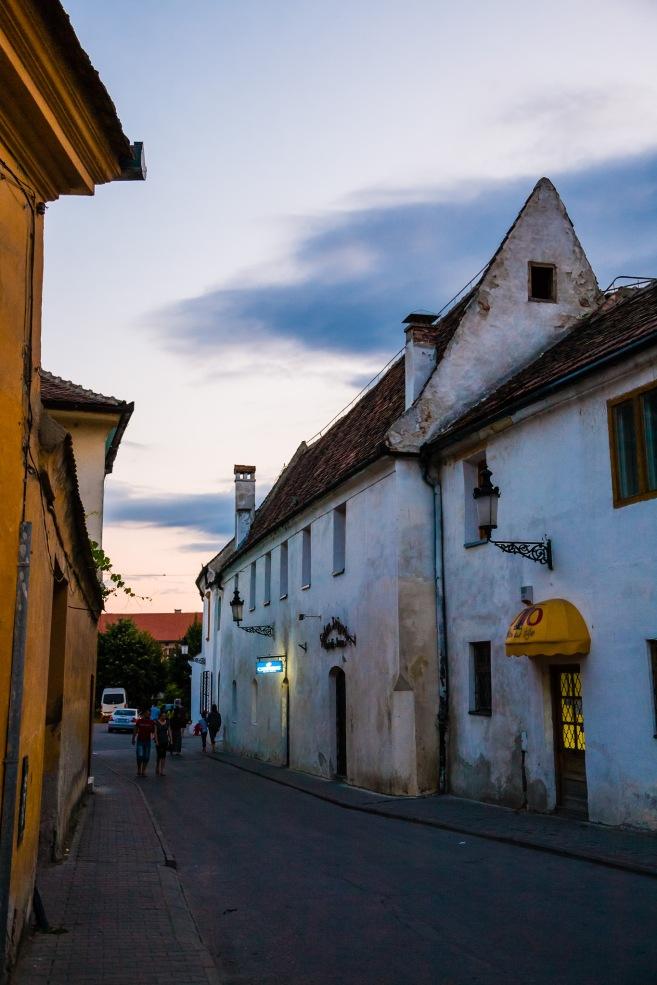Historic district, Medias, Romania