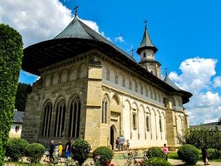 Manastirea Putna, Bucovina, Romania.