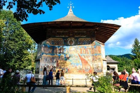 Manastirea Voronet, Bucovina, Romania.