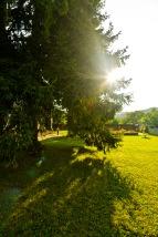 Late afternoon, Manastirea Humorul, Bucovina, Romania.