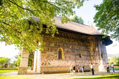 Manastirea Humorul, Bucovina, Romania.