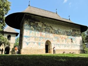 Manastirea Arbore, Bucovina, Romania.
