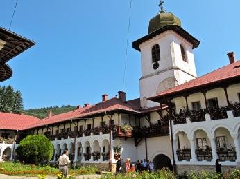 Manastirea Agapia, Romania.