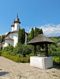 Manastirea Varatec, Romania.