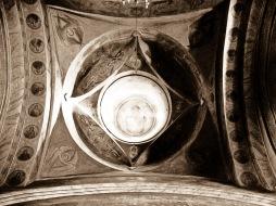 Ceiling murals, Manastirea Varatec, Romania.