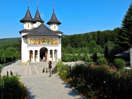 Manastirea Sihastria, Moldova, Romania.