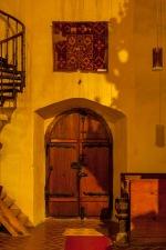 Inside Margarethenkirche, Medias, Romania