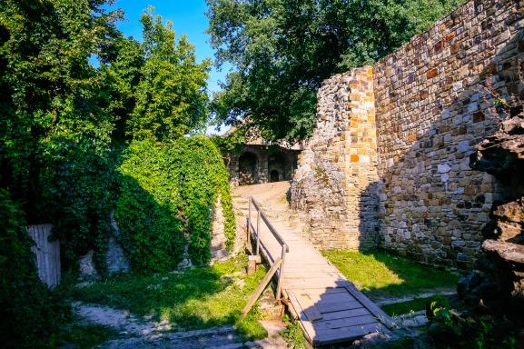 Cetatea de Scaun, Suceava, Bucovina, Romania.