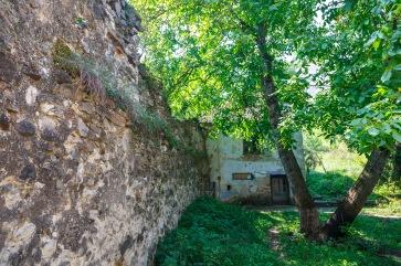 The Rupea Fortress before the restoration work, Rupea, Romania