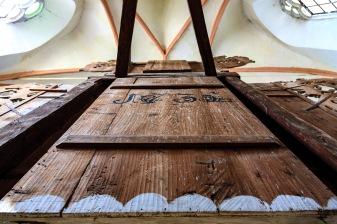 Fortified church in Saschiz, Transilvania, Romania