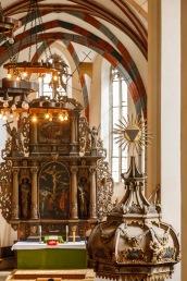 Saxon church, Sighisoara, Romania
