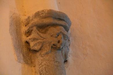 At the fortified church in Bahnea, Transilvania, Romania