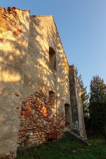 At the fortified church in Moardas, Transilvania, Romania