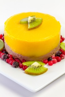 Tort de mango si ciocolata