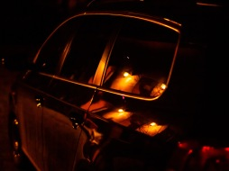 Lights, reflected
