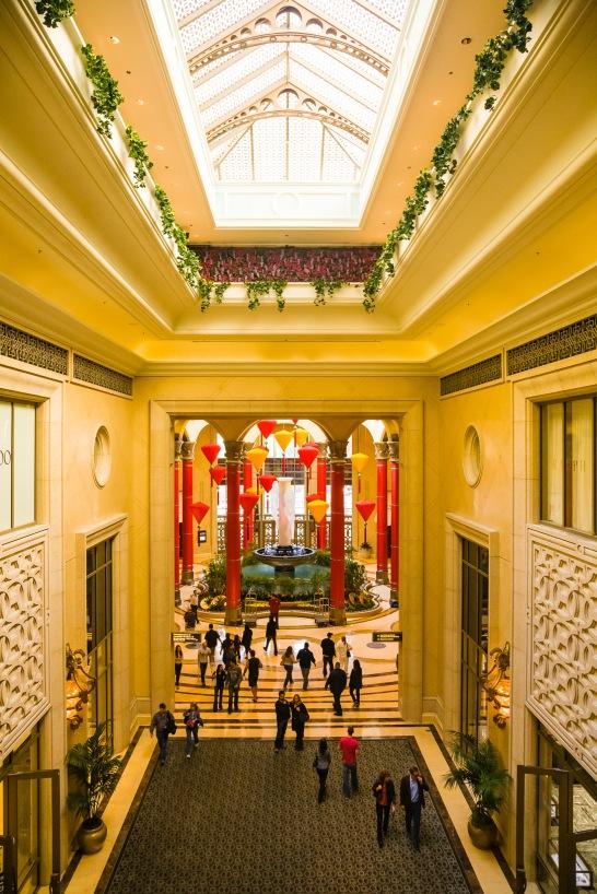 Palazzo Hotel, Las Vegas, NV, USA.