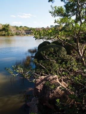 Lake, Morikami Museum and Japanese Gardens, Delray Beach, FL, USA.