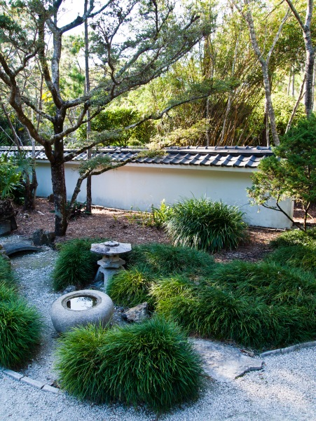 Garden, Morikami Museum and Japanese Gardens, Delray Beach, FL, USA.