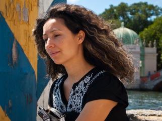 Ligia at Vizcaya, Miami, Florida, USA.