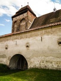 Fortified church, Valea Viilor, Transilvania, Romania