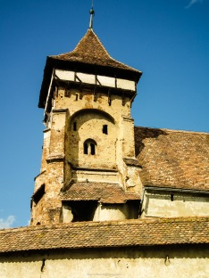 Fortified church, Valea Viilor, Transilvania, Romania