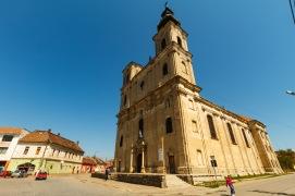 Catholic church in Dumbraveni.