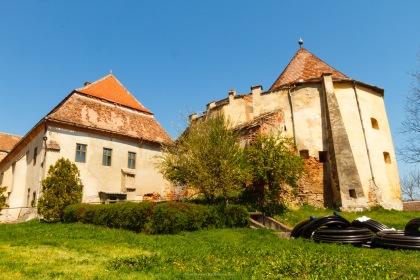 Apafi Castle, Dumbraveni, Transilvania, Romania