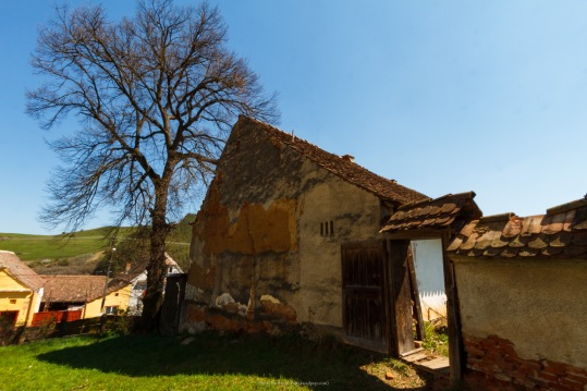 The fortified church in Viisoara, Transilvania, Romania