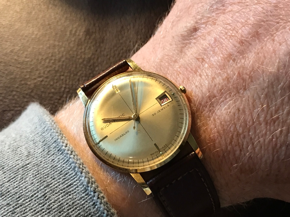 A 1960s Guda-Matic Watch
