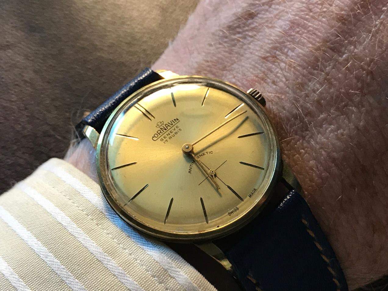 A 1940s Cornavin Geneve Watch