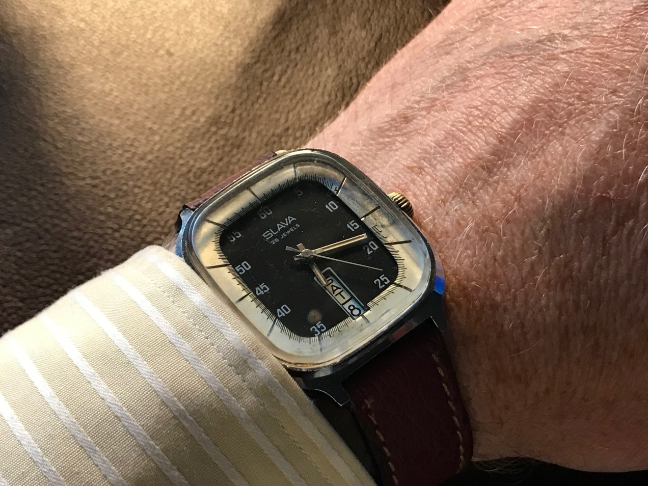 "A 1970s Slava ""TV Style"" Watch"