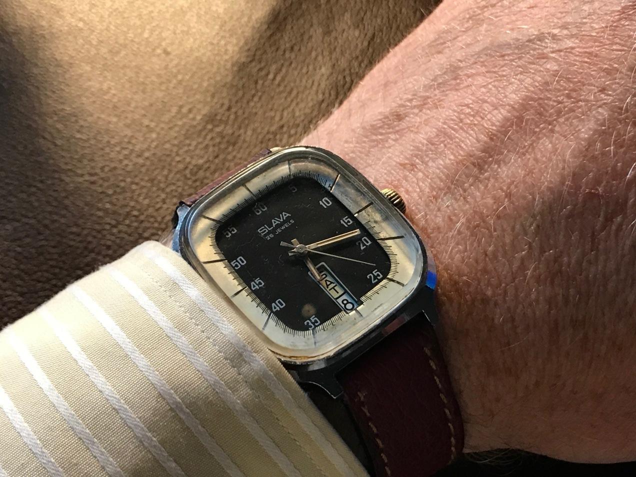 "A 1970s Slava ""TV Style"" Watch"