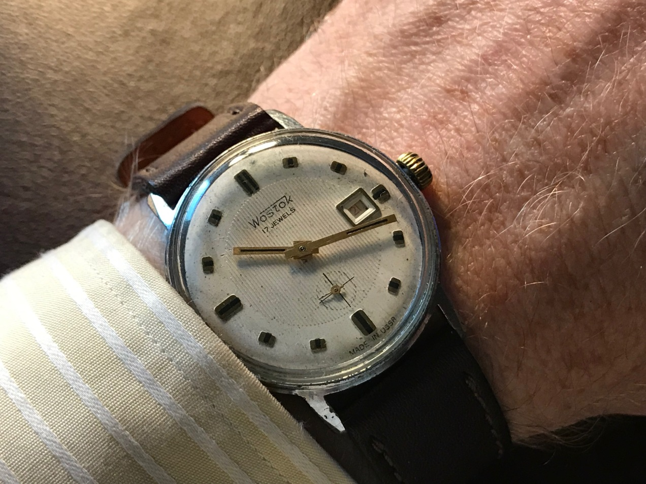 A 1956 Wostok Watch