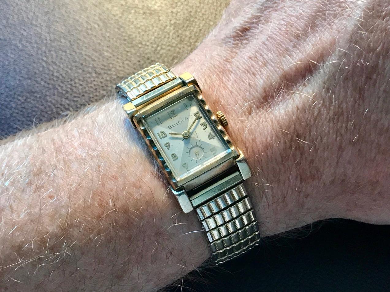 A 1930s Bulova L4 Watch