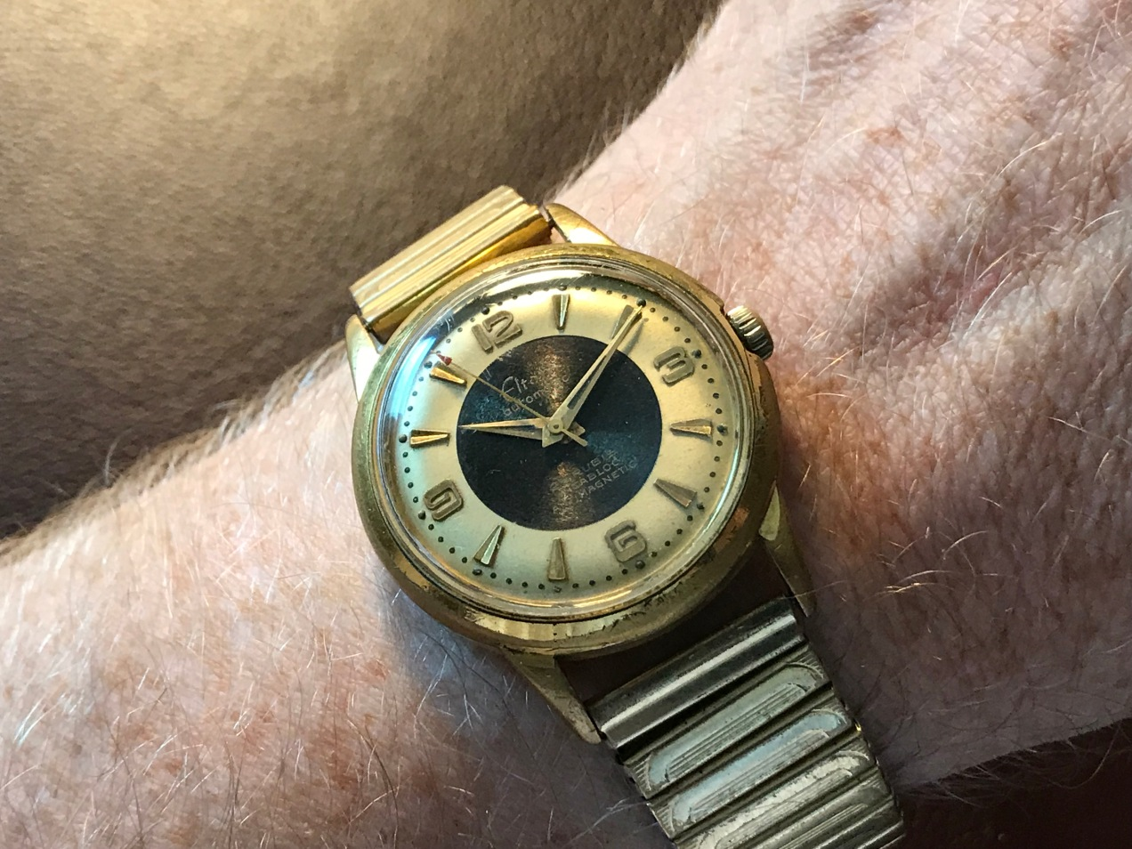 A 1950s Elton Automatic Watch