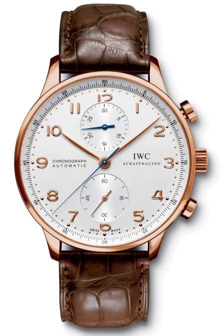 IWC Portuguese Rose Gold Chronograph IW371480