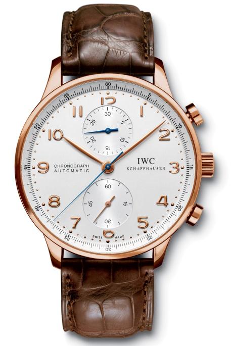 IWC Portuguese Rose Gold Chronograph IW371480