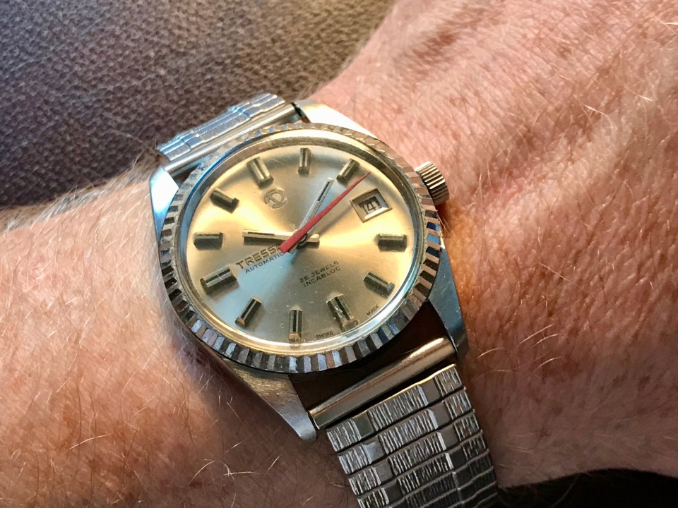 A 1970s Tressa Automatic Watch